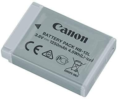 NB-13L Battery for Canon PowerShot G1 X Mark II III G5 G7 G9 SX620 HS SX720 SX730 SX740 Camera