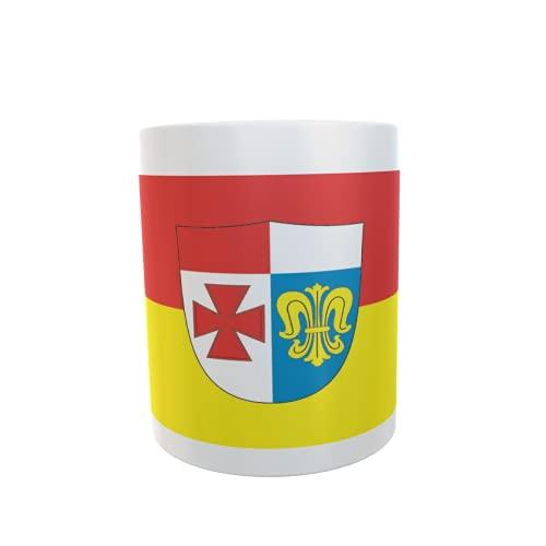 U24 Tasse Kaffeebecher Mug Cup Flagge Landkreis Augsburg