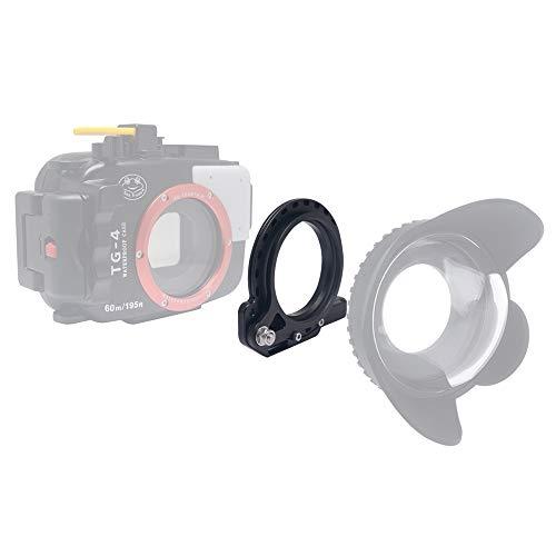 Venidice - Adaptador de Carcasa submarina para filtros RX100 A6000 S110 G15 G16 TG5 TG4 TG-5 TG-4 (67 mm)