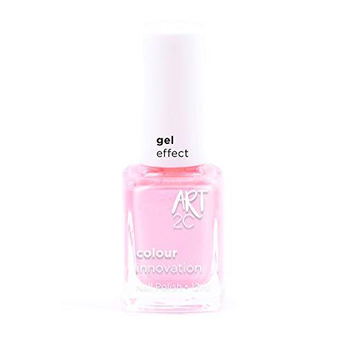 Art 2C - Esmalte de uñas efecto gel, 18 colores, 12ml, color: Little miss (GE03)