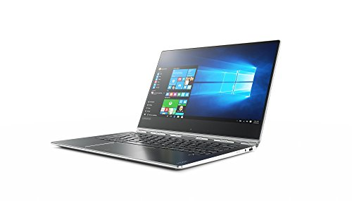Lenovo Yoga 910-13IKB - Portátil convertible de 13.9' Full HD (Intel Core i7-7500U, RAM de 16 GB, SSD de 512 GB, Intel HD Graphics 620, Windows 10 Home) plata - teclado QWERTY Español