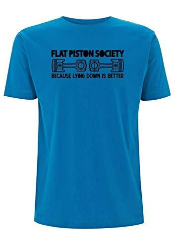 Time 4 Tee - Camiseta de pistón Plano para Coches...