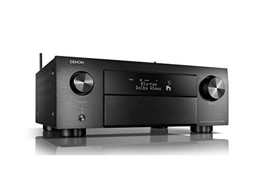 Denon AVR-X4500H - Receptores Audio/Video de Alta definición, Color Negro