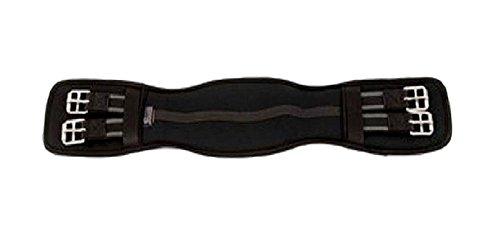 Neoprene Dressage Girth, Black, 18