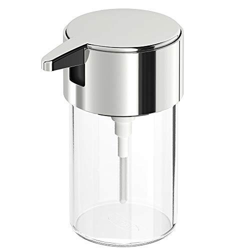 fuchsiaan Dispensador de jabón manual, impermeable, para montaje en la pared, desinfectante de manos, para cocina, baño, hogar, hotel, escuela, restaurante, 250 ml, 250 ml