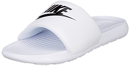 Nike Victori One, Ciabatte Uomo, Bianco (white/black-white), 52.5 EU
