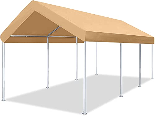 DOIFUN 12x20 Feet Heavy Duty Carport Portable Garage Car Canopy
