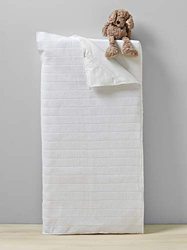 Vertbaudet Matratzen-Schonbezug für Babys und Kinder weiß 60x120