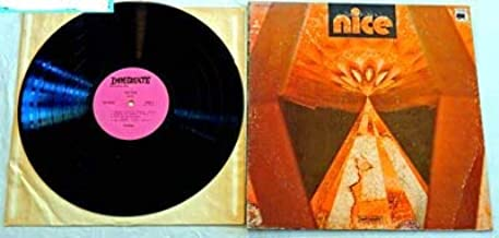 The Nice Self Titled LP - Immediate Records 1969 - Used Vinyl LP Record - With Keith Emerson - Rondo 69 - She Belongs To Me - Hang On To A Dream - Diary Of An Empty Day