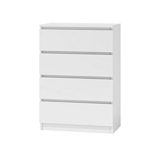 Selsey CLINO - Commode tiroirs (4, Blanc)