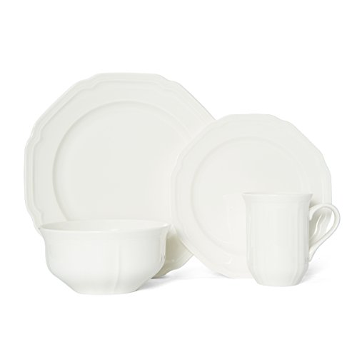 Mikasa Antique White 4-Piece Place Setting, Service for 1