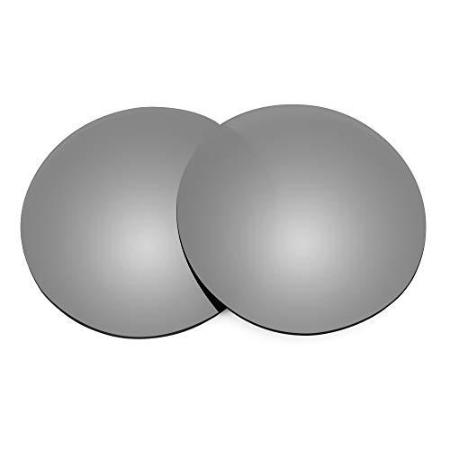 Revant Lentes de Repuesto Compatibles con Gafas de Sol Ray-Ban Erika RB4171 54mm, No Polarizados, Titanio MirrorShield