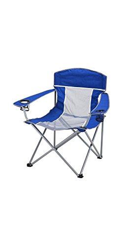 Ozark Trail 500 lb. XXL Comfort Mesh Chair, Blue/Grey