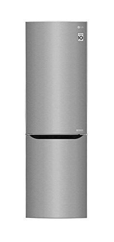 LG GBB 59 SAPFS Kühl-Gefrierkombination mit No Frost mit Total NoFrost - 60er Breite, Silber, A+++