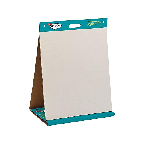 Staples 958102 Stickies Tabletop Easel Pad 20-Inch X 23-Inch White 20 Sheets/Pad (23448)