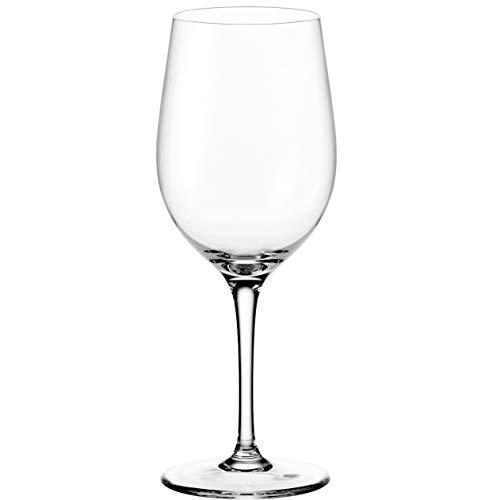 Leonardo Ciao+ Weißwein-Glas, Weißwein-Kelch mit gezogenem Stiel, spülmaschinenfeste Wein-Gläser, 6er Set, klein, 300 ml, 061446