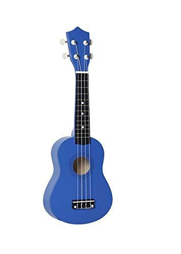 JiaLG Okulele de Madera de 21 Pulgadas Ukulele GiftChildren Four-String Pequeña Guitarra Ukelele Guitar Guitar Guitar Guitar Guitar Ukulele Kit (Color : Blue)