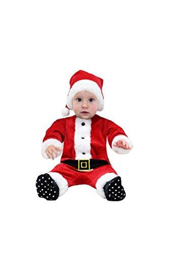 tutina ciniglia babbo natale neonato con cappello (82-86 cm) 13-18 mesi