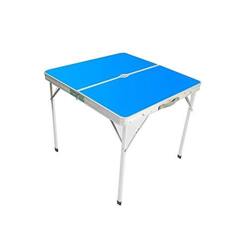 Klaptafel Draagbaar in hoogte verstelbare campingtafel Picknick binnen en buiten barbecuetafel (kleur: A) B