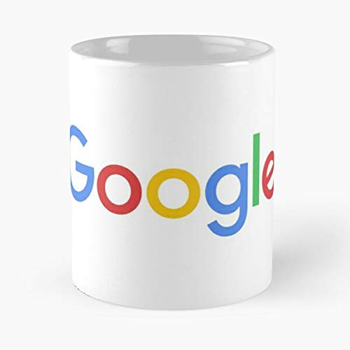 Glitzysecrets Search Engine Web Company Technology Internet New Logo Google Taza de café con Leche 11 oz