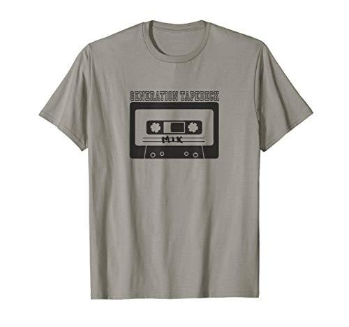 Kassette 80er Tape Tapedeck Hifianlage Ghettoblaster Boombox T-Shirt