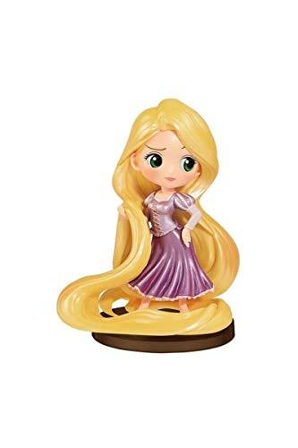 Disney- Figura QPOSKET Rapunzel 7 CM Ariel, Multicolor (1)