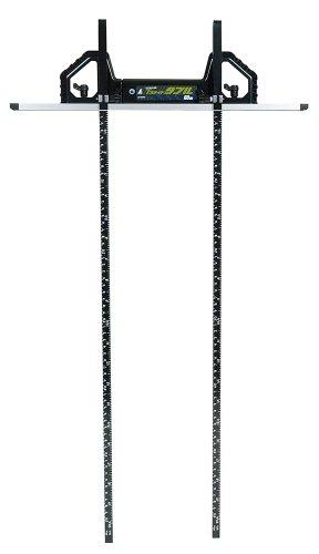 シンワ測定(Shinwa Sokutei) 丸ノコガイド定規 Tスライドダブル 併用目盛 突き当て可動式 60cm 73704