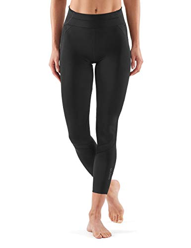SKINS DNAmic Ultimate Womens 7/8 Tights Black FS Femme, FR : S (Taille Fabricant