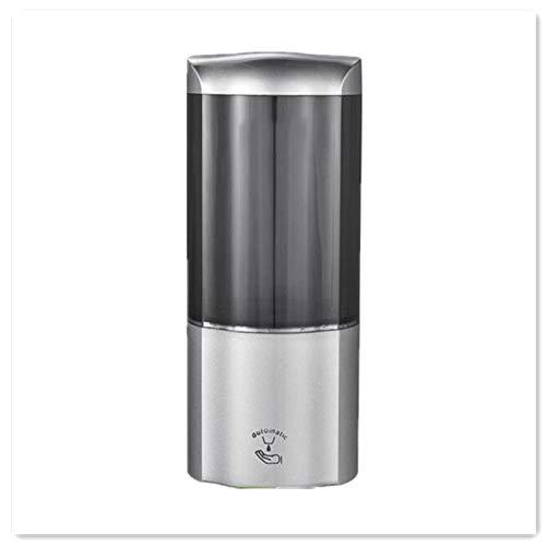 YM963 Automático dispensador de jabón 500 ml de Capacidad sin Contacto automático de inducción con Pilas de Manos Libres dispensador de jabón for la Cocina y el baño (Oro/Plata/Blanco)