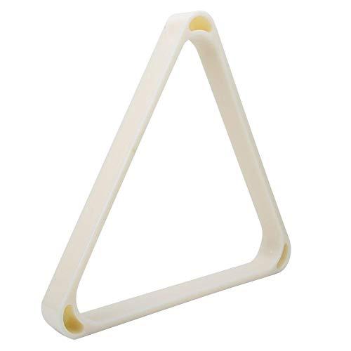 Billar Rack de Bolas Billar de Plástico ABS Marco Triangular Billar Profesional Mesa de Billar Accesorio para Billar Snooker(52.5MM)