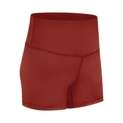 Pantalones Cortos para Mujer Tendencia de Primavera y Verano de Pantalones Cortos de Yoga elásticos Sencillos y Atractivos Pantalones Cortos Deportivos Casuales de Moda y cómodos 6