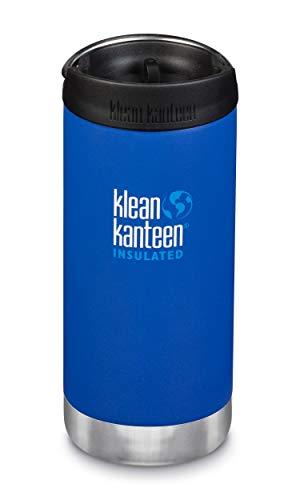 Klean Kanteen 16oz Wide with Café Cap - Blue