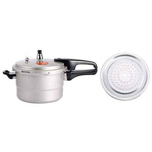 Pressure Cooker, Cooking Tool, Easy Cooking Contemporary Design Superior Craftsmanship Versatility Stainless Steel Explosion Proof For Open Flame Stove Stovetop(20cm (gas, gas))