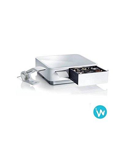 Star Micronics - mPop - Imprimante Bluetooth + tiroir-caisse - Blanc, Avec douchette