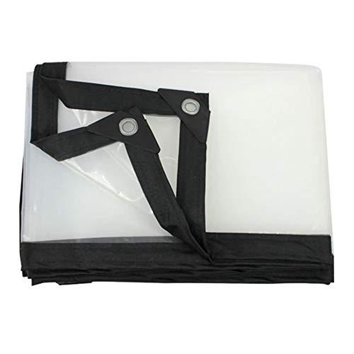 Transparant dekzeil, regendicht, verdikt de vloerbedekkingen doorzichtige plastic folie (kleur: transparant, afmetingen: 2 x 3 m)