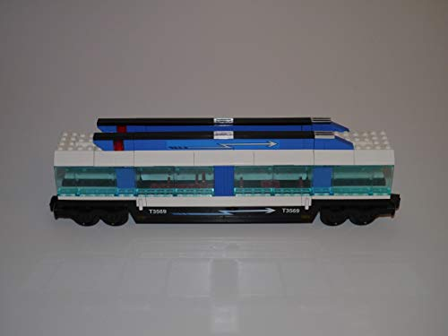 Gebrauchte Bausteine Ersatz für Lego System Lego 9V + RC Eisenbahn Train 4560 Waggon Passagiere Wagon CAR KOMPATIBEL MIT Lego 9V + RC System