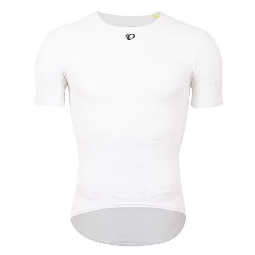PEARL IZUMI Transfer Mesh Baselayer 2021 - Ropa interior de ciclismo para hombre (talla XXL), color blanco