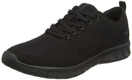Suecos Alma, Zapatillas de Deporte Unisex Adulto, Negro (Black), 44 EU
