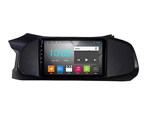 YIJIAREN Radio GPS Navegación para Chevrolet Onix 2012-2019, Pantalla táctil 2.5D Android 10.0 Coche Estéreo Sat Nav Soporte de Control del Volante BT Mirror-Link 4G WiFi