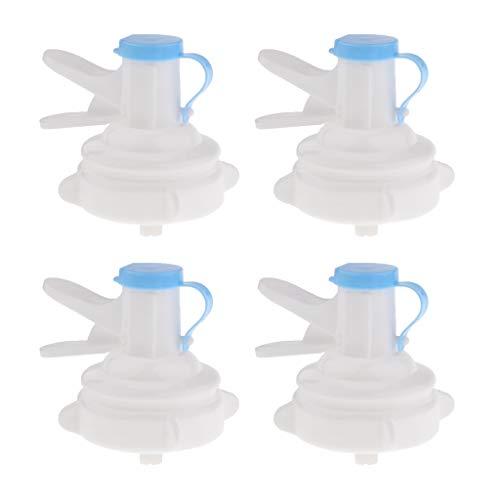 LOVIVER 4 Stü Wasserflasche Dispenser Ventil Für Krone Top 3 5 Gallonen