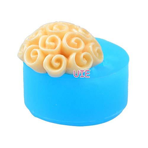 JNML cakevorm bloemen flexibele siliconen mal - voor Fondant, taart Topper, kauwgom plakken, sieraden, hars Fimo Clay, Cookie Biscuit