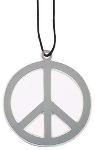 HAAC - Collana con ciondolo a forma di pace da 10 cm