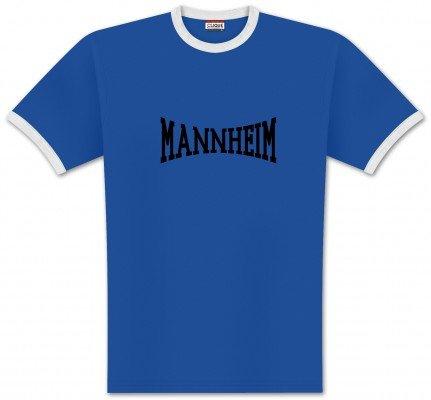 World of Football Ringer T-Shirt lons Mannheim - 140