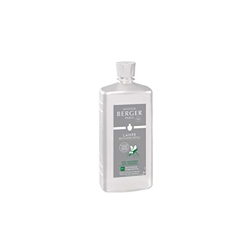 Lampe Berger Paris 116066 - Deodorante per Ambienti Anti zanzare Neutro, 1L