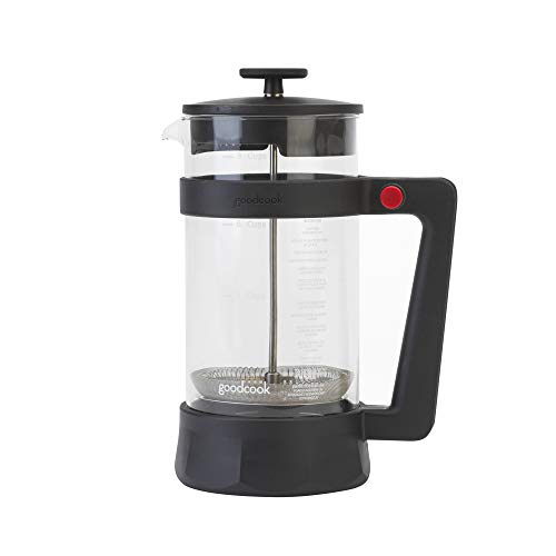Goodcook Kaffeepresse, 8 Tassen, Glas, BPA-frei, Kunststoffrahmen