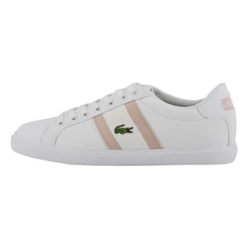 Lacoste Women's Grad Vulc 120 1 Fashion Sneaker Wht/Pnk 8.5 Medium US