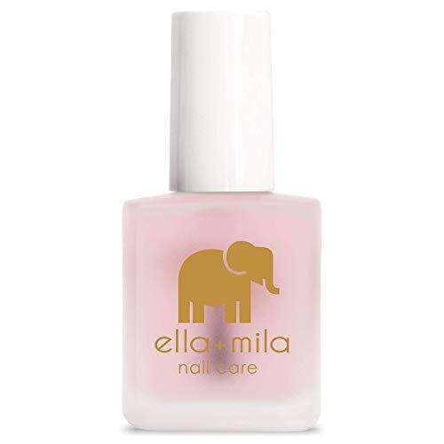 "ella+mila ""First Aid Kiss"" | Nail Strengthener & Growth Treatment | Stops Peeling, Cracking & Splitting | Repair Weak, Brittle, Thin & Damaged Nails | Contains Vitamin E"