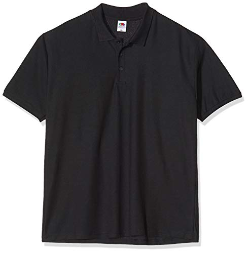 Fruit of the Loom Premium Polo - Farbe: Black - Größe: L