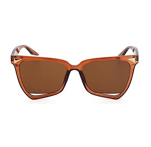 XWKKY Gafas De Bloqueo De Luz Para Mujer Lrregular Gafas De Moda Con Montura De Ojo De Gato Gafas Gafas