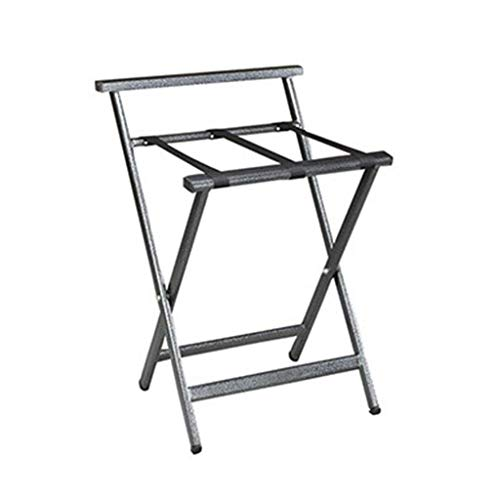 Lowest Price! ZXY-NAN Luggage Rack Luggage Rack,Hotel Luggage Rack Stainless Steel Storage Rack Fold...